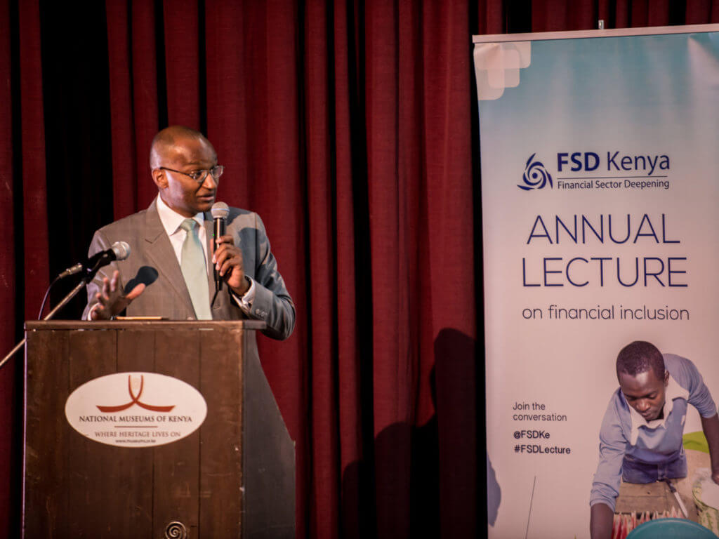 CBK Governor, Dr. Njoroge, graces the 3rd FSD Lecture