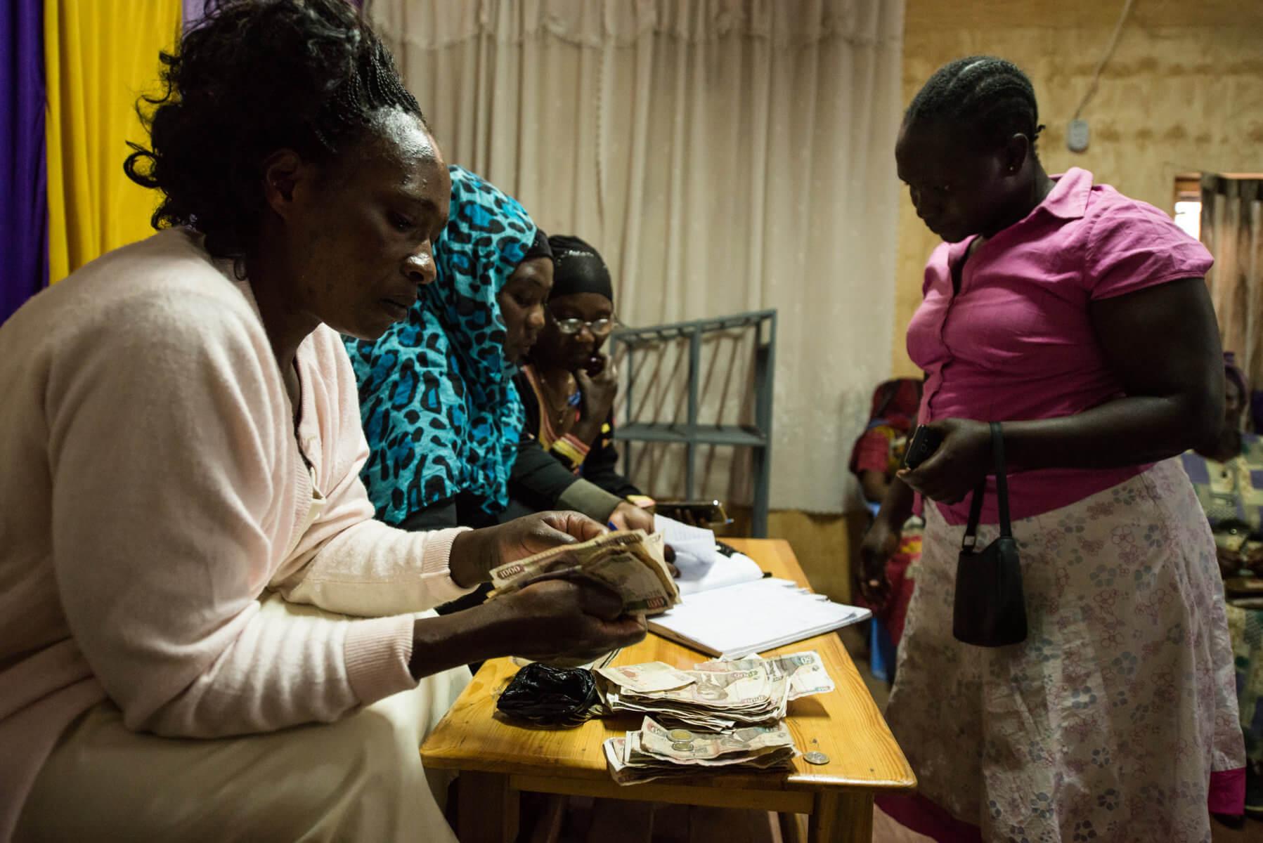 Kay gets perspective on informal sector in Kibera
