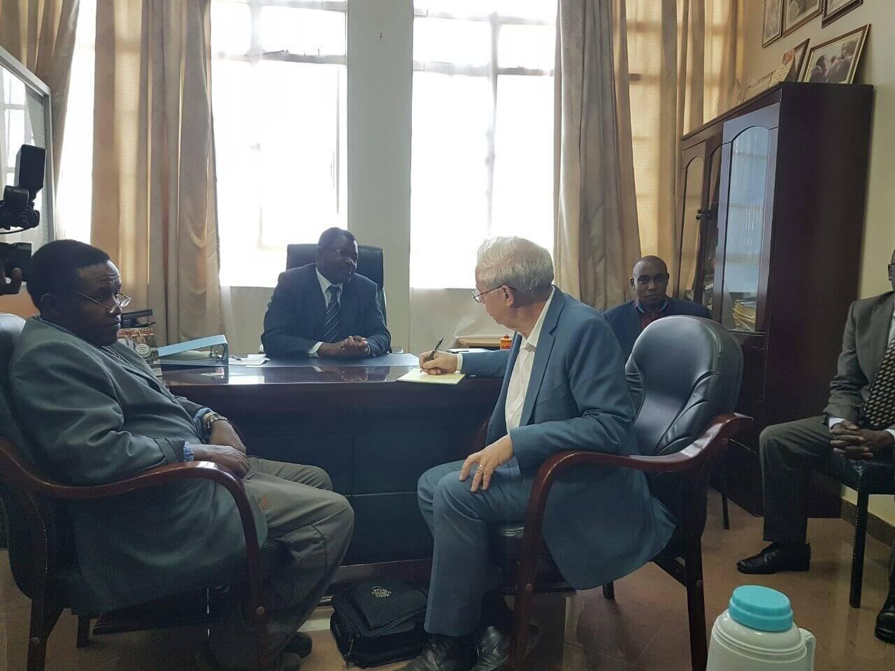 PICTURES: John Kay at Kenyatta University