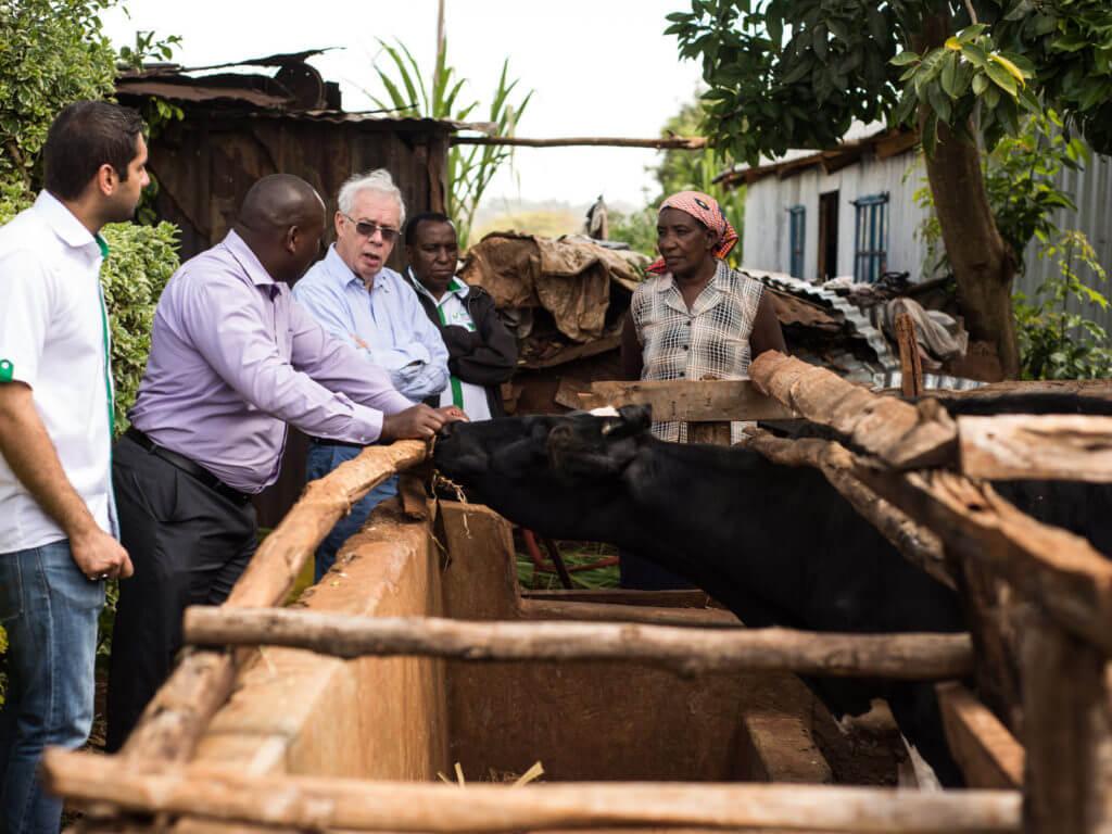 Kay gets perspective on rural finance in Ndenderu