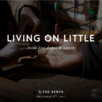 Living on little: a photo narrative highlighting the Kenya Financial Diaries study