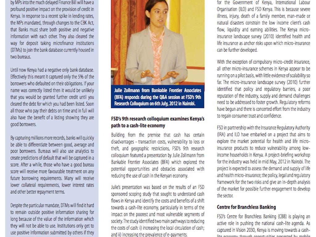 Quarterly newsletter – issue 21