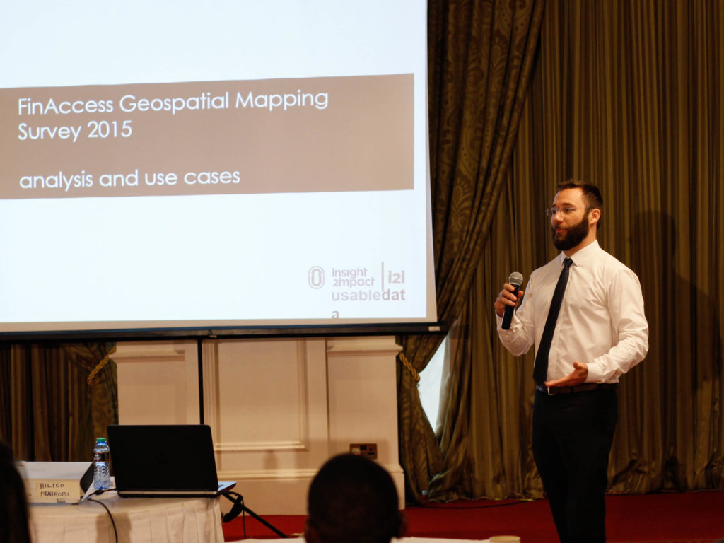 2015 FinAccess geospatial mapping survey: analysis and use cases