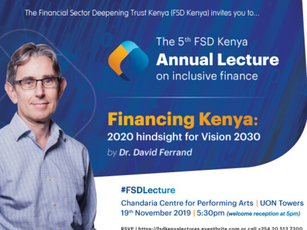 The 5th FSD Kenya annual lecture on financial inclusion