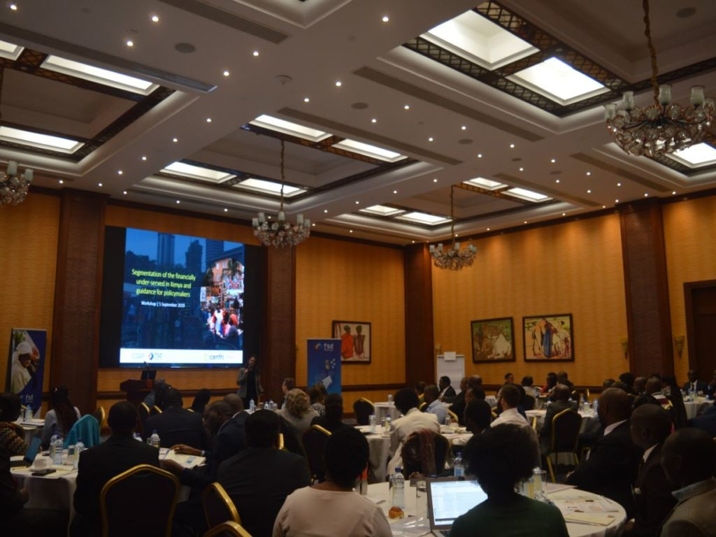 Harnessing the market potential of financially underserved Kenyans