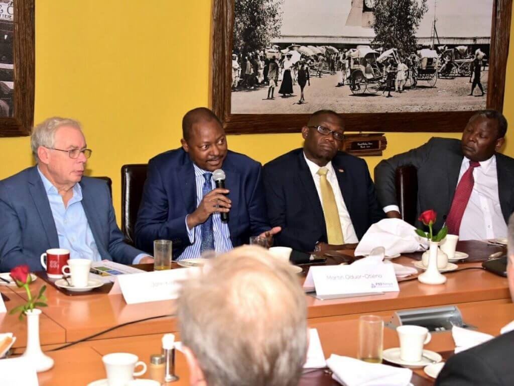 PICTURES: Kay and industry leaders discuss the future of finance