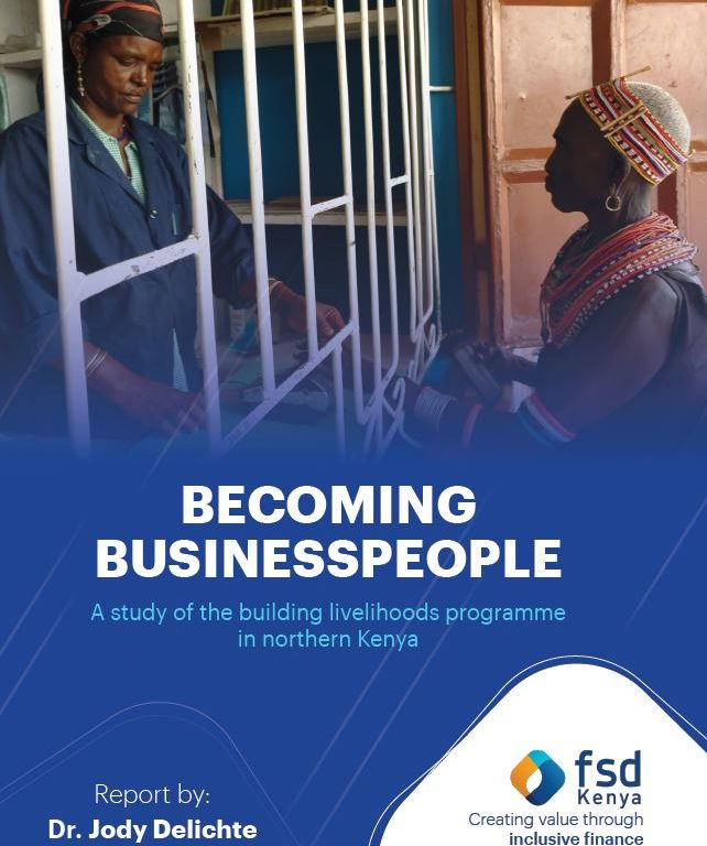 Becoming businesspeople: A study of the building livelihoods programme in northern Kenya
