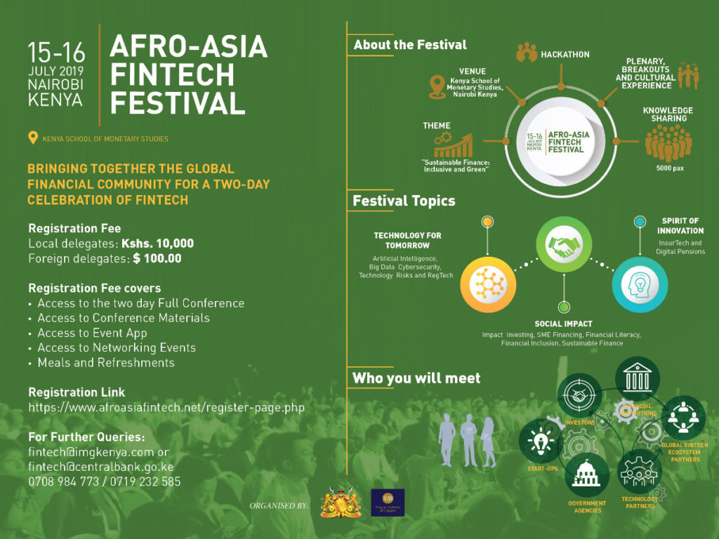 Win a delegate pass to the Afro-Asia Fintech Festival
