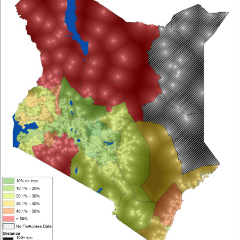 Mapping financial inclusion: Kenya geospatial data launch
