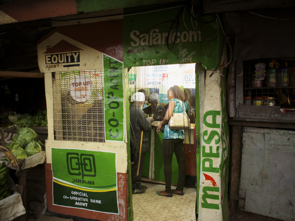 The M-PESA effect: Are financial transaction costs a barrier to more effective insurance for families in Kenya?