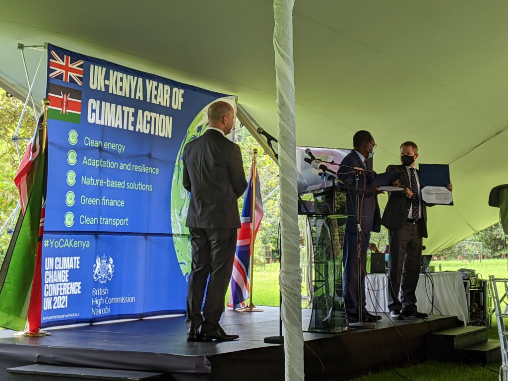 Kenya launches the Year of Climate Action (#YoCaKenya)